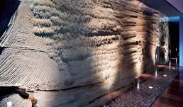 Internal rockwall.