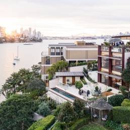 Sydney harbour view from home. Built by Pimas Gale